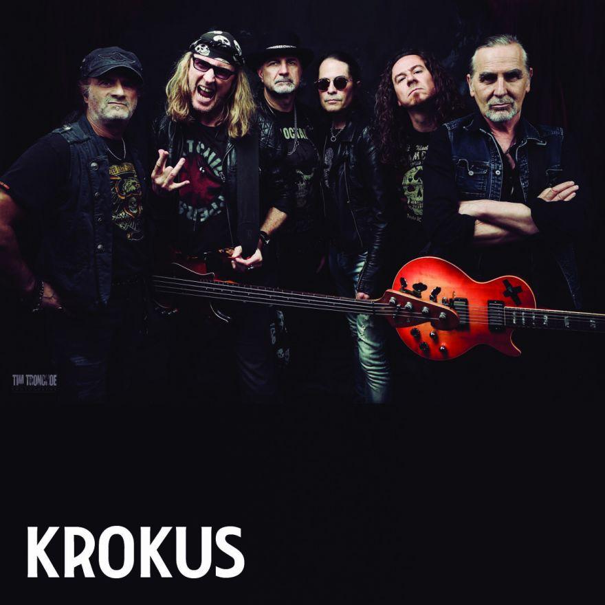 Feiert den Bühnenabschluss von KROKUS