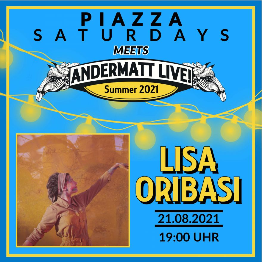 Piazza Saturdays meets AndermattLive!