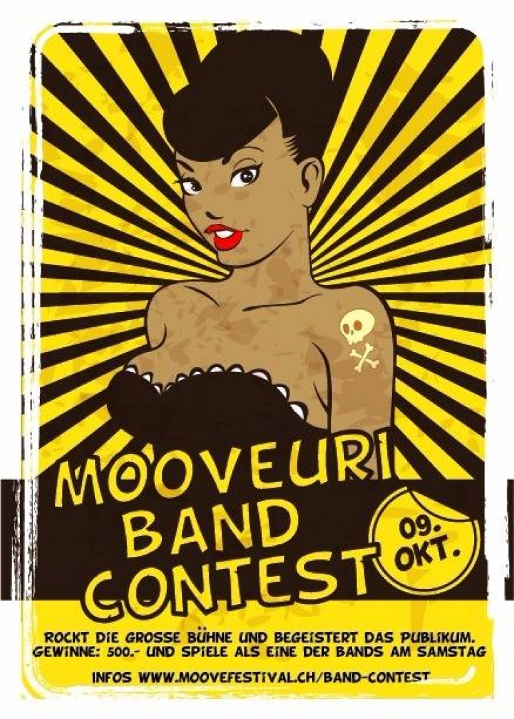 MOOVEURI : Band Contest