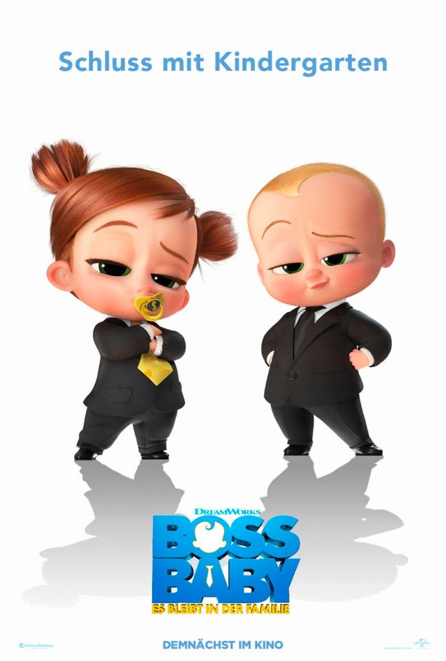 BOSS BABY 2 – SCHLUSS MIT KINDERGARTEN