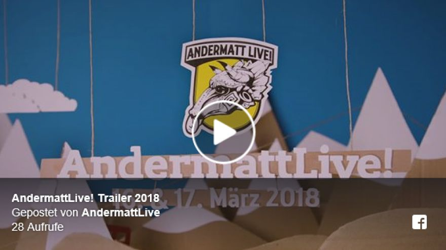 AndermattLive Trailer