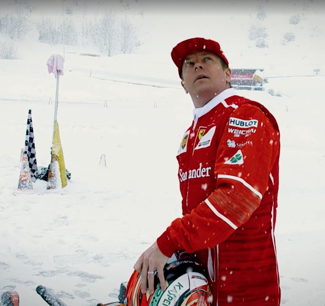 Video: Kimi Räikkönen in Seelisberg