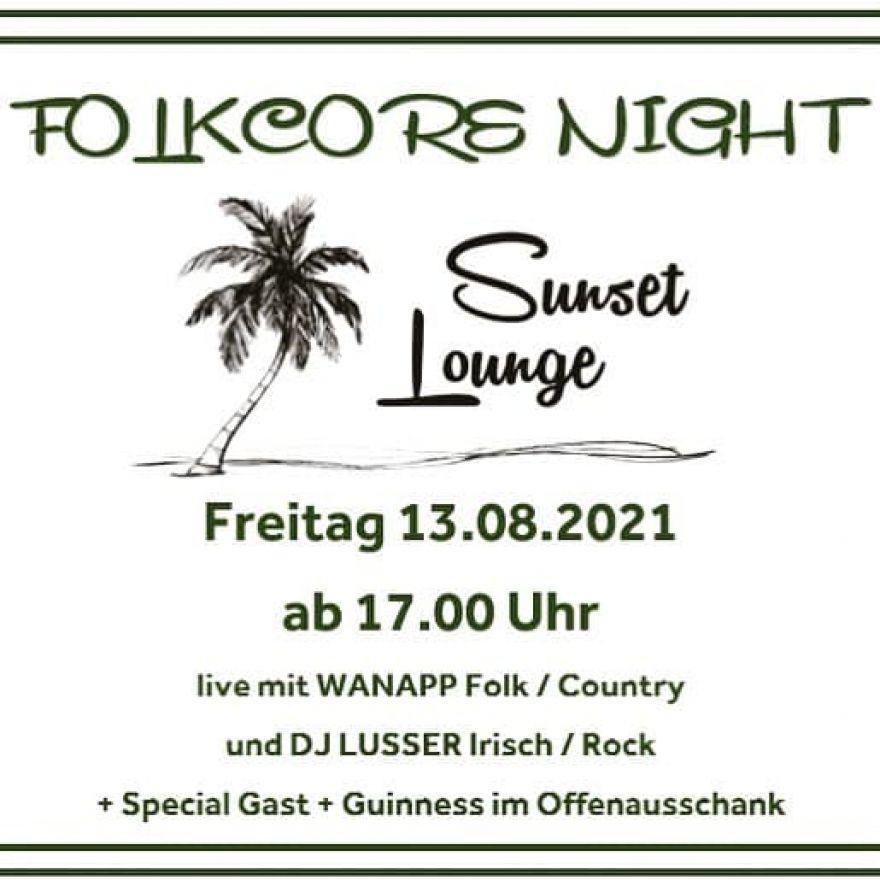 Wanapp FOLKCORE Night
